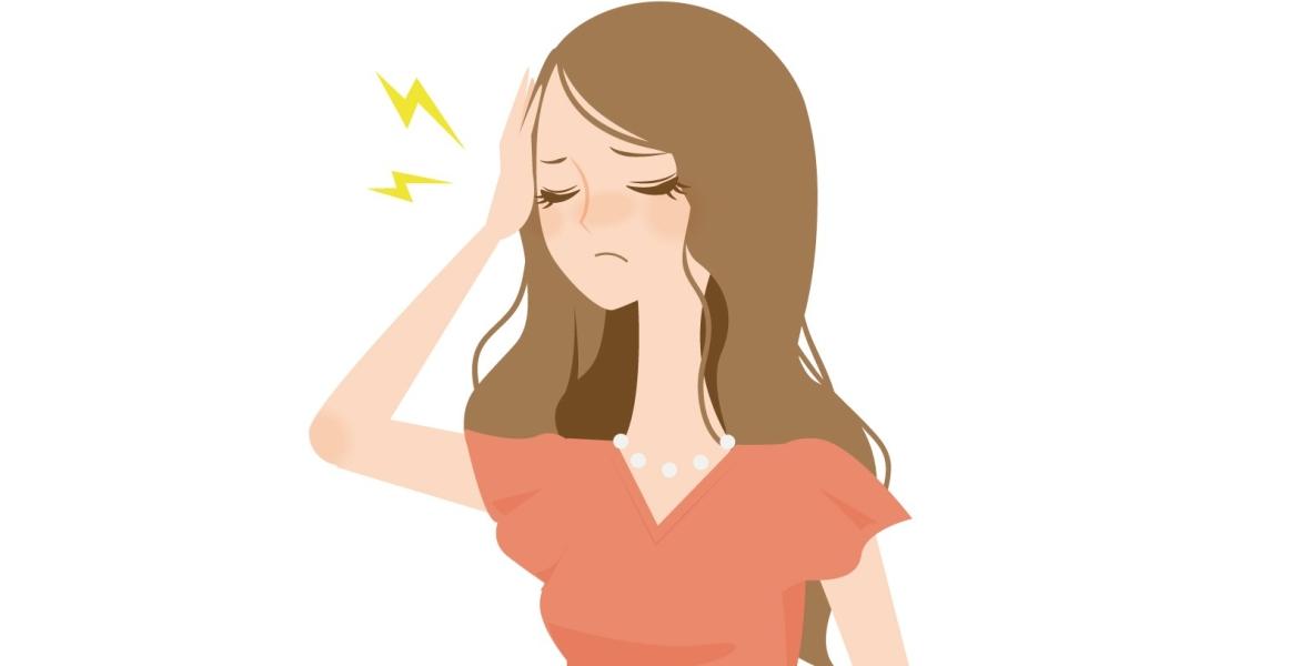 頭痛がひどいアール子