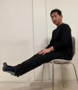 足指グー・チョキ・パーストレッチ