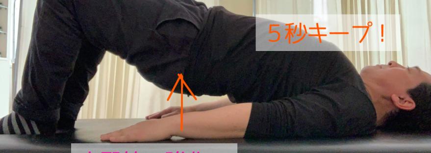 大臀筋の強化