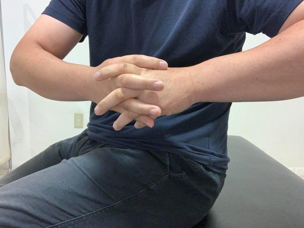 手首を柔軟にする体操1